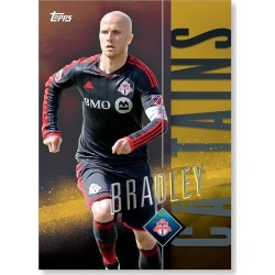 Michael Bradley MLS Apex Captains Poster - Gold Ed. # to 1