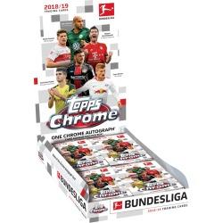 2019 Chrome Bundesliga Hobby Box found on Bargain Bro India from Topps for $63.00