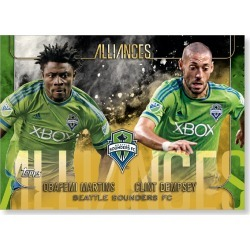 Seattle Sounders FC MLS Apex Alliances Poster - Gold Ed. # to 1