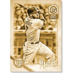Manny Margot 2018 Topps Gypsy Queen Baseball Base Poster Gold Ed. - #'d to 1 found on Bargain Bro Philippines from Topps for $99.99