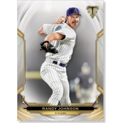 Randy Johnson 2019 Triple Threads Base Card Poster # to 99