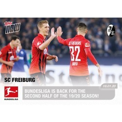 Bundesliga is Back for the second half of the 19/20 season! - Bundesliga TOPPS NOW® Card #87 found on Bargain Bro India from Topps for $9.99