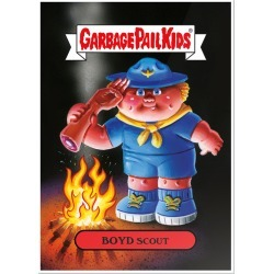 Boyd Scout 2020 GPK Bizarre Holidays Poster found on Bargain Bro India from Topps for $19.99