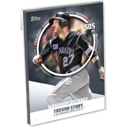 2019 Topps Baseball Series 2 Base Oversized Complete Significant Statistics Set (25 Cards) - # to 49