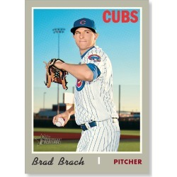 Brad Brach 2019 Heritage High Number Base Cards Poster # to 99