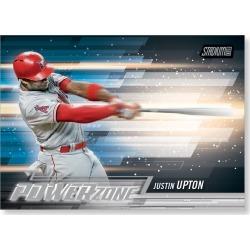 2018 Topps Baseball Stadium Club Justin Upton Power Zone Poster - #'d to 99
