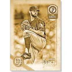 Martin Perez 2018 Topps Gypsy Queen Baseball Base Poster Gold Ed. - #'d to 1 found on Bargain Bro Philippines from Topps for $99.99