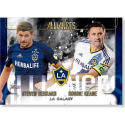 LA Galaxy MLS Apex Alliances Poster - # to 49