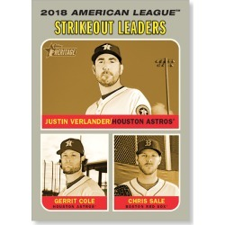 Justin Verlander 2019 Heritage Baseball Base Poster Gold Ed. # to 1 found on Bargain Bro India from Topps for $99.99