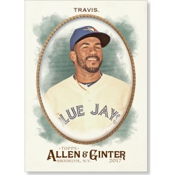 Devon Travis 2017 Allen & Ginter BASE Poster - # to 99 found on Bargain Bro India from Topps for $24.99