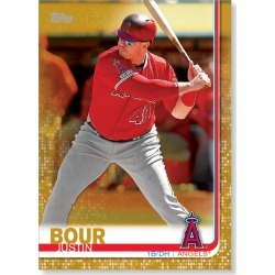 Justin Bour 2019 Topps Baseball Update Series Traded Players Poster Gold Ed. # to 1 found on Bargain Bro India from Topps for $99.99