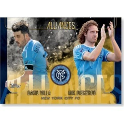 New York City FC MLS Apex Alliances Poster - Gold Ed. # to 1