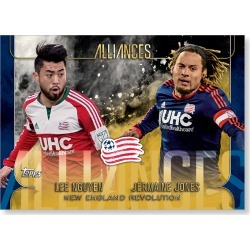 New England Revolution MLS Apex Alliances Poster - Gold Ed. # to 1