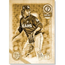 Jose Urena 2018 Topps Gypsy Queen Baseball Base Poster Gold Ed. - #'d to 1 found on Bargain Bro Philippines from Topps for $99.99