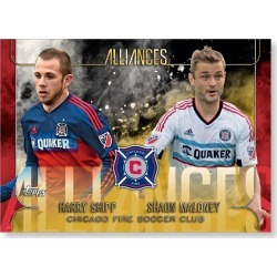 Chicago Fire Soccer Club MLS Apex Alliances Poster - Gold Ed. # to 1