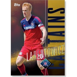 Jeff Larentowicz MLS Apex Captains Poster - Gold Ed. # to 1