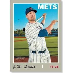 J.D. Davis 2019 Heritage High Number Base Cards Poster # to 99