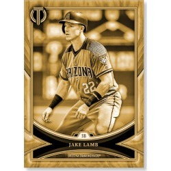 Jake Lamb 2018 Topps Tribute Baseball Base Poster Gold Ed. - #'d to 1 found on Bargain Bro Philippines from Topps for $99.99