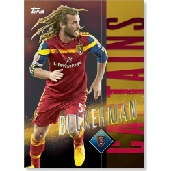 Kyle Beckerman MLS Apex Captains Poster - Gold Ed. # to 1