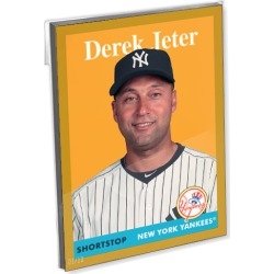 2019 Archives Baseball Oversized Complete Base Set (300 Cards) Gold Ed. - # to 10