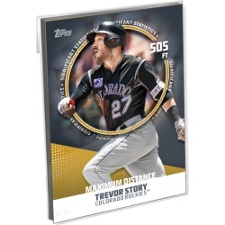 2019 Topps Baseball Series 2 Base Oversized Complete Significant Statistics Set (25 Cards) Gold Ed. - # to 10