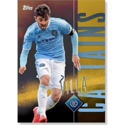 David Villa MLS Apex Captains Poster - Gold Ed. # to 1