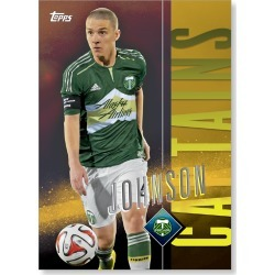 Will Johnson MLS Apex Captains Poster - Gold Ed. # to 1