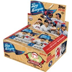 2019 Big League Baseball Hobby Box found on Bargain Bro India from Topps for $48.00