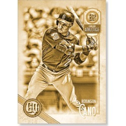 Robinson Cano 2018 Topps Gypsy Queen Baseball Team Swap Error Cards Poster Gold Ed. - #'d to 1 found on Bargain Bro Philippines from Topps for $99.99