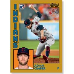 Adam Cimber 2019 Topps Baseball Series 2 1984 Topps Baseball Rookies Poster Gold Ed. # to 1