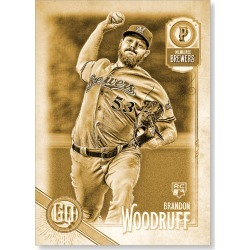 Brandon Woodruff 2018 Topps Gypsy Queen Baseball Base Poster Gold Ed. - #'d to 1 found on Bargain Bro Philippines from Topps for $99.99