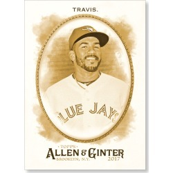 Devon Travis 2017 Allen & Ginter BASE Poster - Gold Ed. # to 1 found on Bargain Bro India from Topps for $99.99