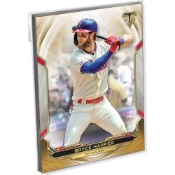 2019 Topps Tribute Baseball Oversized Complete Base Set (106 Cards) Gold Ed. - # to 10