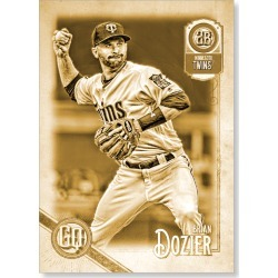 Brian Dozier 2018 Topps Gypsy Queen Baseball Base Poster Gold Ed. - #'d to 1 found on Bargain Bro Philippines from Topps for $99.99