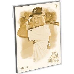 2019 Topps Allen & Ginter Baseball Base Oversized Complete Base Set (350 Cards) Gold Ed. - # to 10