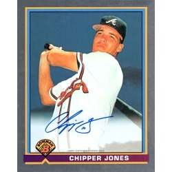 Chipper Jones Autographed 1991 Bowman 8 x 10 Jumbo Card found on Bargain Bro India from Topps for $129.99