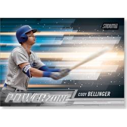 2018 Topps Baseball Stadium Club Cody Bellinger Power Zone Poster - #'d to 99