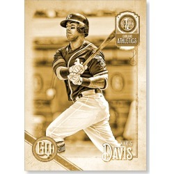 Khris Davis 2018 Topps Gypsy Queen Baseball Base Poster Gold Ed. - #'d to 1 found on Bargain Bro Philippines from Topps for $99.99