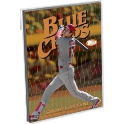 2019 Topps Finest Baseball Finest Blue Chips Oversized Complete Base Set (30 Cards) Gold Ed. - # to 10