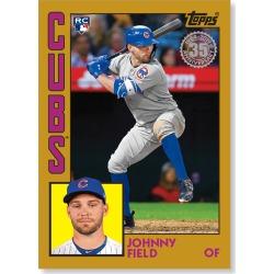 Johnny Field 2019 Topps Baseball Series 2 1984 Topps Baseball Rookies Poster Gold Ed. # to 1