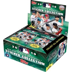 2019 MLB Sticker Collection Display Box found on Bargain Bro India from Topps for $50.00