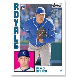Brad Keller 2019 Topps Baseball Series 2 1984 Topps Baseball Rookies Poster # to 99