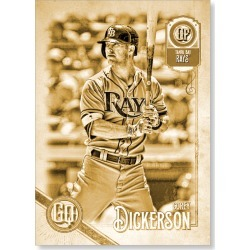 Corey Dickerson 2018 Topps Gypsy Queen Baseball Base Poster Gold Ed. - #'d to 1 found on Bargain Bro Philippines from Topps for $99.99