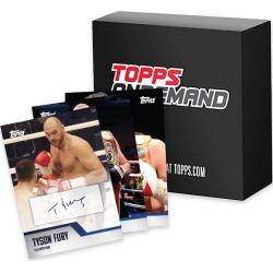 2020 Topps On-Demand Set #2 - Tyson Fury - Autograph Edition