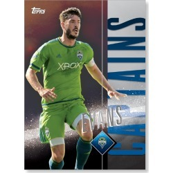 Brad Evans MLS Apex Captains Poster - # to 49