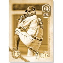 Corey Kluber 2018 Topps Gypsy Queen Baseball Jackie Robinson Image Variation Poster Gold Ed. - #'d to 1 found on Bargain Bro Philippines from Topps for $99.99
