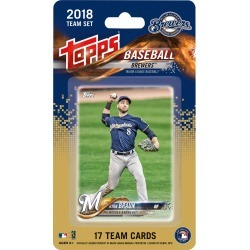 2018 Topps Milwaukee Brewers Mini Team Set found on Bargain Bro India from Topps for $6.99