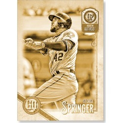 George Springer 2018 Topps Gypsy Queen Baseball Jackie Robinson Image Variation Poster Gold Ed. - #'d to 1 found on Bargain Bro Philippines from Topps for $99.99