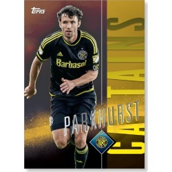 Michael Parkhurst MLS Apex Captains Poster - Gold Ed. # to 1