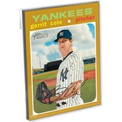 2020 Topps Heritage Baseball Oversized Complete Base Set (339 Cards) Gold Ed. - # to 10